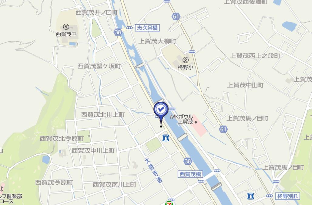 加茂川マップ