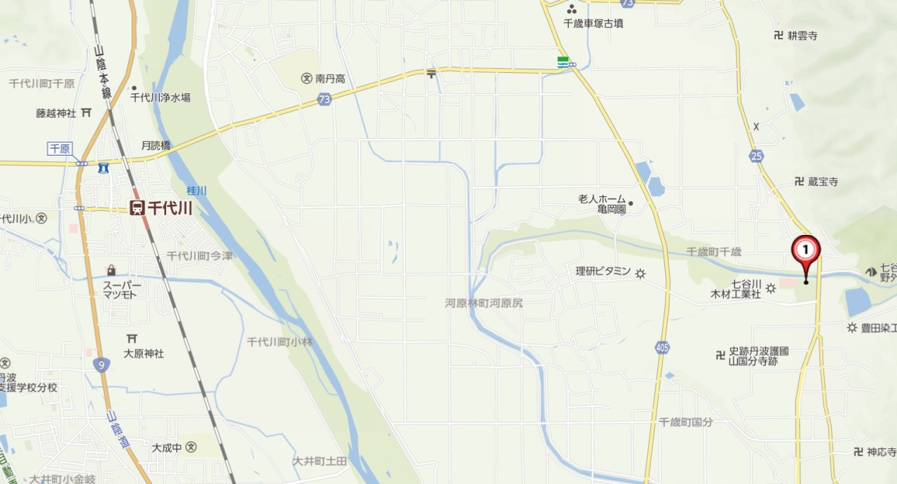 亀岡さくら公園マップ