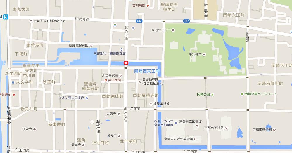 平安神宮周辺マップ